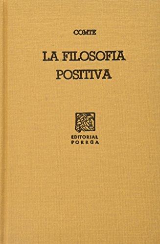 FILOSOFIA POSITIVA, LA (SC340): COMTE, AUGUSTO