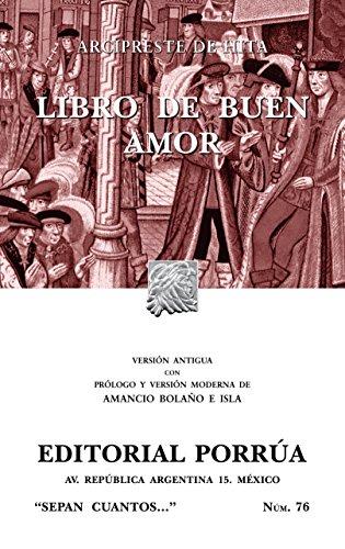 Libro de buen amor (SC076) (Spanish Edition): Arcipreste de Hita