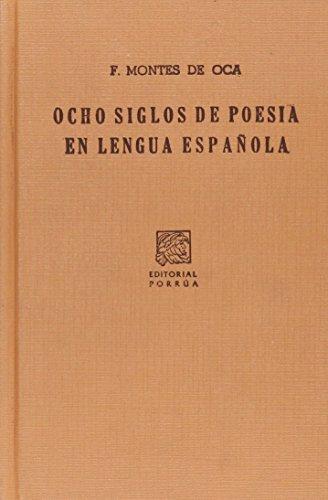 9789700743431: OCHO SIGLOS DE POESIA EN LENGUA CASTELLANA (SC008)