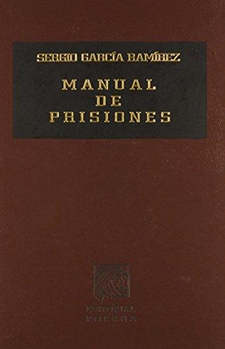9789700747262: MANUAL DE PRISIONES