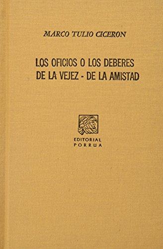 OFICIOS O LOS DEBERES, LOS (SC230): CICERON, MARCO TULIO