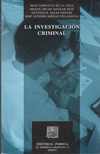 9789700747514: INVESTIGACION CRIMINAL, LA