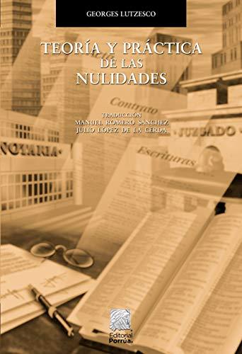 9789700749969: TEORIA Y PRACTICA DE LAS NULIDADES