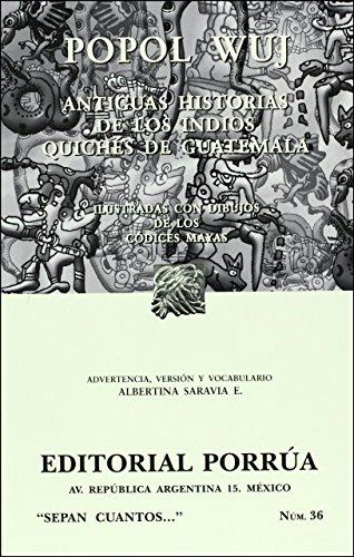 9789700752464: Popol Wuj (Spanish Edition)