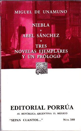 NIEBLA ABEL SANCHEZ (SC-0388): Unamuno, Miguel de