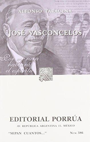 JOSE VASCONCELOS (SC386): TARACENA, ALFONSO