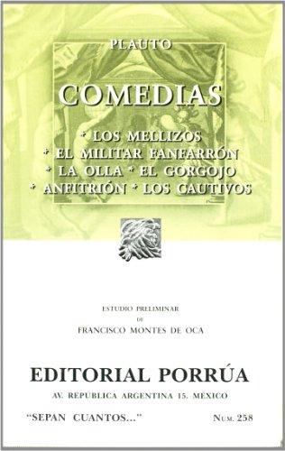 9789700758015: comedias plaut