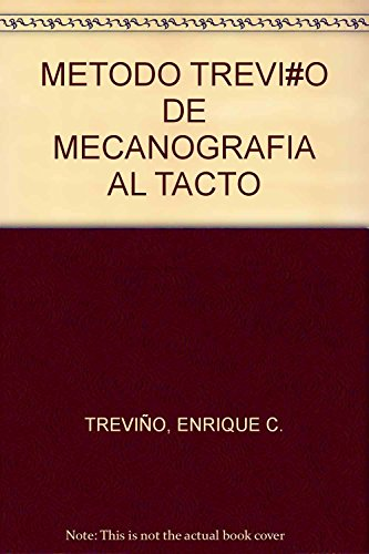 9789700759210: METODO TREVI#O DE MECANOGRAFIA AL TACTO