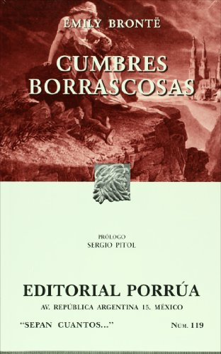 9789700760834: Cumbres borrascosas (Sepan Cuantos # 119) (Spanish Edition)