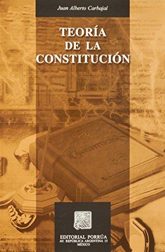 9789700761787: TEORIA DE LA CONSTITUCION