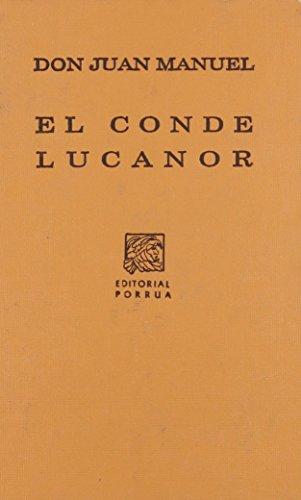 9789700763552: CONDE LUCANOR, EL (SC028)