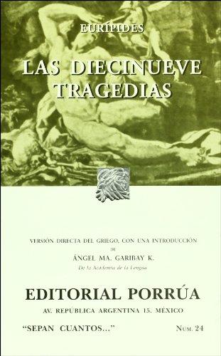9789700765549: Las diecinueve tragedias (Sepan Cuantos # 024) (Spanish Edition)