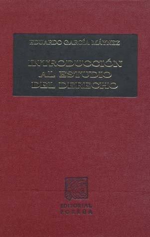 9789700765976: INTRODUCCION AL ESTUDIO DEL DERECHO