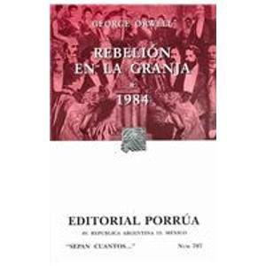 9789700768120: Rebelion en la granja / Animal Farm (Sepan Cuantos / Know How Many) (Spanish Edition)