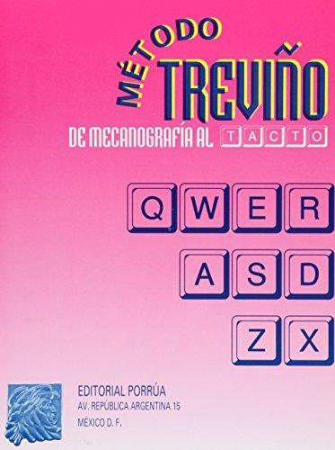 9789700768731: METODO TREVI#O DE MECANOGRAFIA AL TACTO