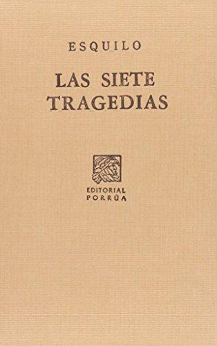 9789700770291: SIETE TRAGEDIAS, LAS