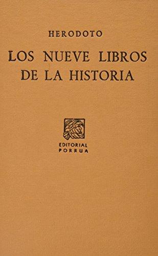 9789700771427: NUEVE LIBROS DE LA HISTORIA, LOS (SC176)
