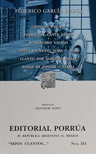 Libro De Poemas, Poema Del Cante Jondo,: Federico Garcia Lorca