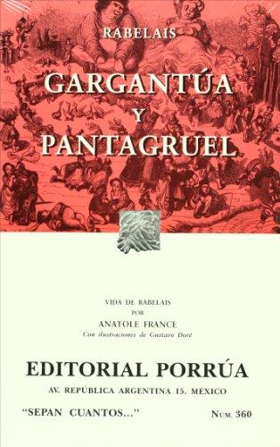 9789700773049: gargantua y pantagrue