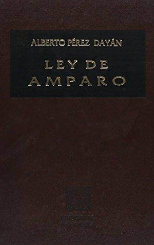 9789700773162: LEY DE AMPARO