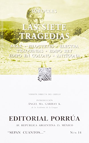 Las Siete Tragedias (Spanish Edition): Sofocles