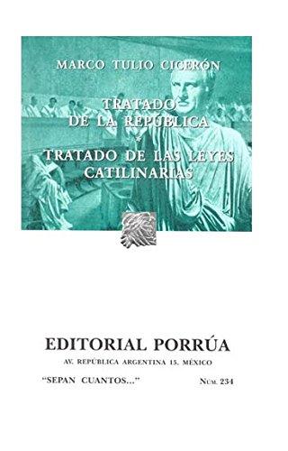 Tratado de la República. Tratad: CICERON (MARCO TULIO