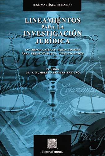 9789700776828: LINEAMIENTOS PARA LA INVESTIGACION JURIDICA