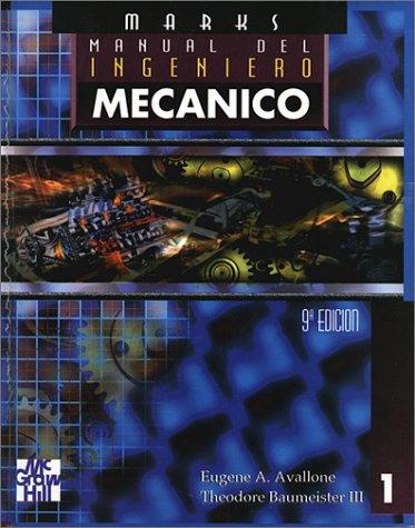 9789701006627: Manual del Ingeniero Mecanico - 2 Volumenes (Spanish Edition)