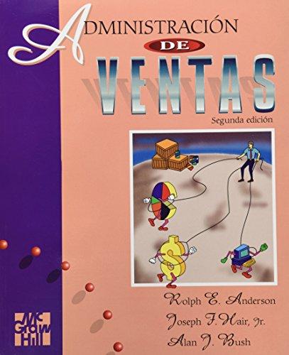9789701006733: Administracion de Ventas - 2 Edicion