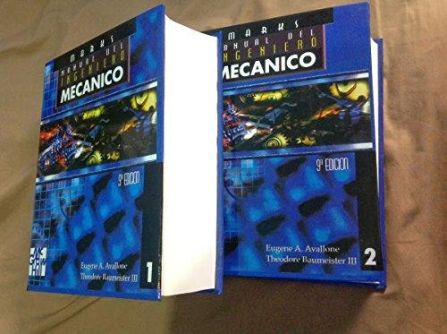 9789701006924: Manual del ingeniero mecanico
