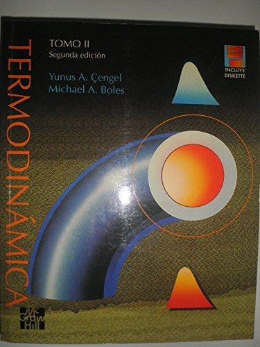 9789701009116: Termodinamica Tomo 2 - 2b: Edicion Con Un Diskette