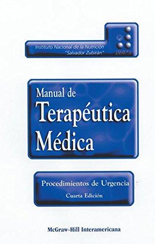 9789701025291: Manual De Terapeutica Medica Y Procedimientos De Urgencia