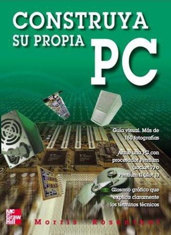 Construya Su Propia Pc 9789701026243 Más que cualquier otra guía, este libro revela el misterio que implica armar su propia computadora personal, aún cuando usted sea un principiante. Página tras página, el autor simplifica el proceso, traduce los términos técnicos, le muestra cada paso y se abre camino a través de la complejidad de la tecnología de las PC. Si hasta ahora ha vivido abrumado por la idea de armar una PC, entonces Construya su propia PC es el libro para usted