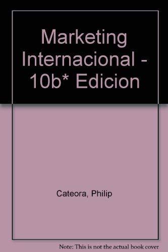 9789701029077: Marketing Internacional - 10b* Edicion (Spanish Edition)
