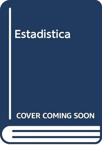 Estadistica (Spanish Edition) (9701032713) by Murray R. Spiegel; Larry J. Stephens