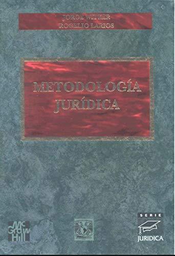 9789701038314: METODOLOGIA JURIDICA