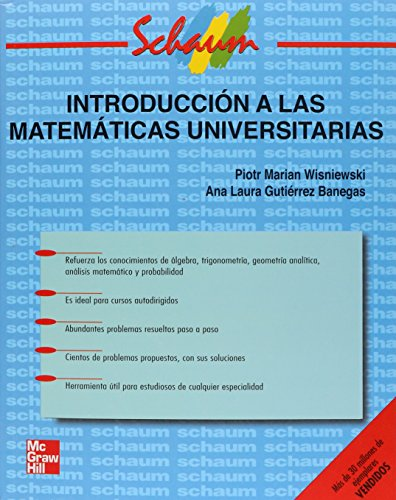 9789701039045: Introduccion a Las Matematicas Universitarias (Spanish Edition)