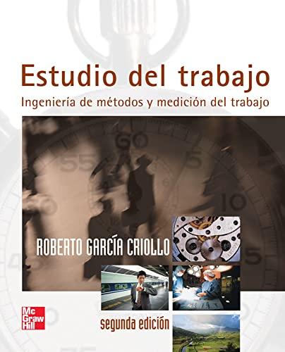 9789701046579: Estudio del Trabajo (Spanish Edition)