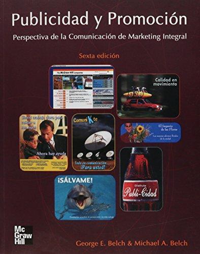 Publicidad y Promocion: GEORGE E. Y