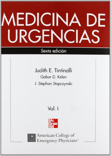 Medicina de urgencias 2 vol´s: Judith E. Tintinalli