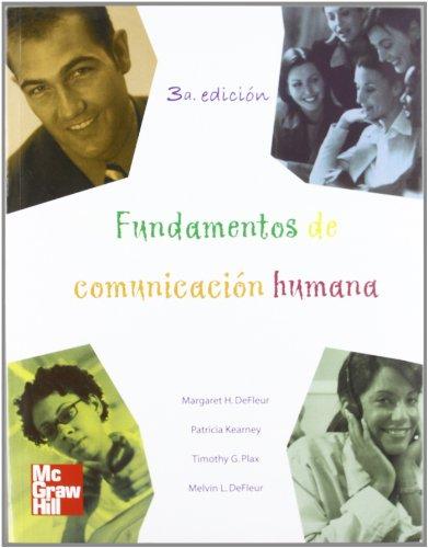 Fundamentos de Comunicacion Humana (Spanish Edition): De Fleur, Melvin