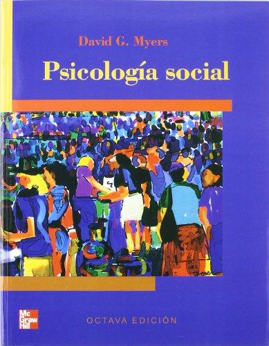 PSICOLOGIA SOCIAL: DAVID G. MYERS