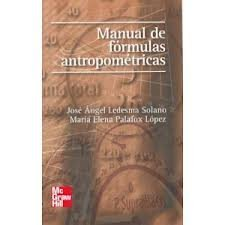 9789701055113: Manual de Formulas Antropometricas (Spanish Edition)