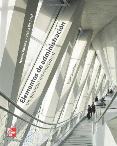 9789701060582: Elementos de administración (Spanish Edition)