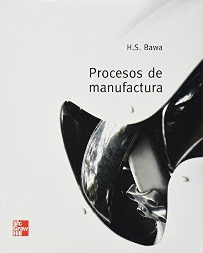 9789701061282: Procesos de Manufactura