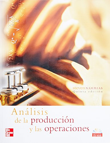 9789701062395: ANALISIS DE LA PRODUCCION
