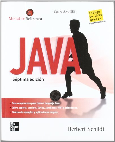 JAVA (MANUAL DE REFERENCIA) 7ED (9701062884) by Herbert Schildt