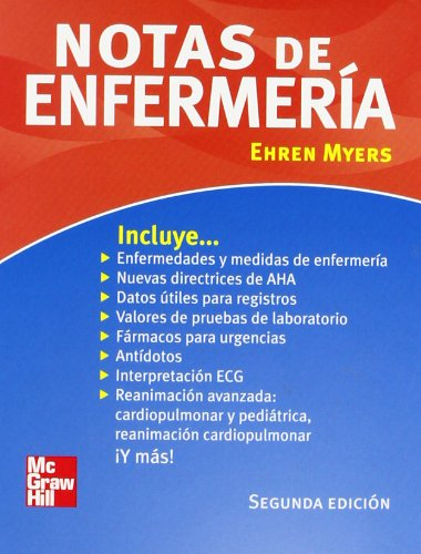 9789701064924: Notas de enfermeria