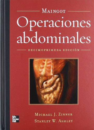 9789701066270: MAINGOT. OPERACIONES ABDOMINALES