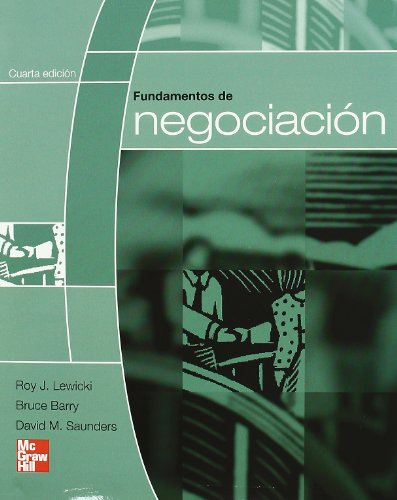 9789701066317: FUNDAMENTOS DE NEGOCIACION